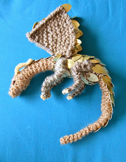 Ravelry Scale Mail Dragon Pattern By Craftymutt