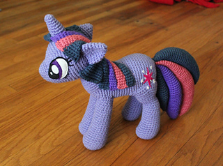 Ravelry Twilight Sparkle From My Little Pony Pattern By The Nerdy