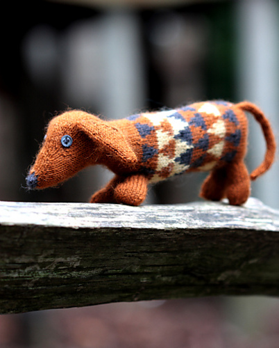 Indie Design Gift Along 2018 Toys knitted dog