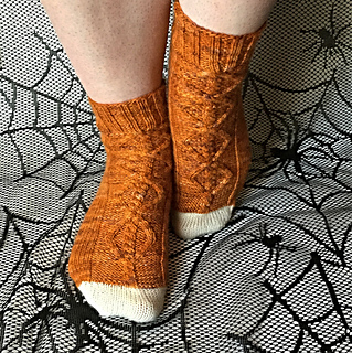 5c5c6f8a3df Ravelry  The Witching Hour Socks pattern by Ash Christine