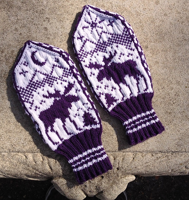 Knit Pattern Mittens Images Knitting Patterns Free Download