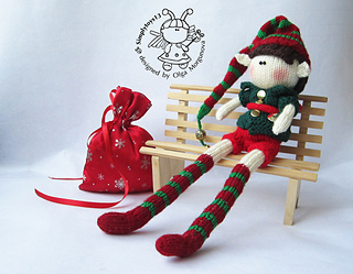 Knitted Elf Pattern : Ravelry: Doll Elf boy pattern by Morgunova Olga