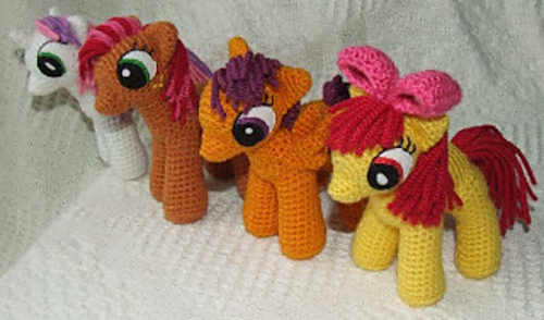 Ravelry My Little Pony Friendship Is Magic Pattern By Knit One Awe