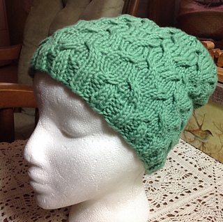 ac3311f74c2 Ravelry  Shannon s Classy Chemo Cap pattern by Knots of Love