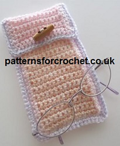 Ravelry Pfc47 Glasses Case Crochet Pattern By Patternsfor Designs