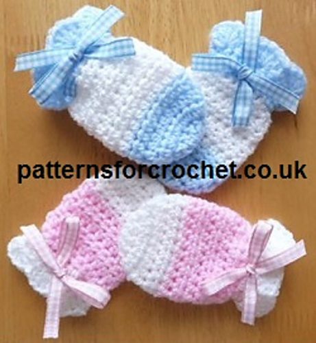 Ravelry Pfc63 Baby Mitts Pattern By Patternsfor Designs