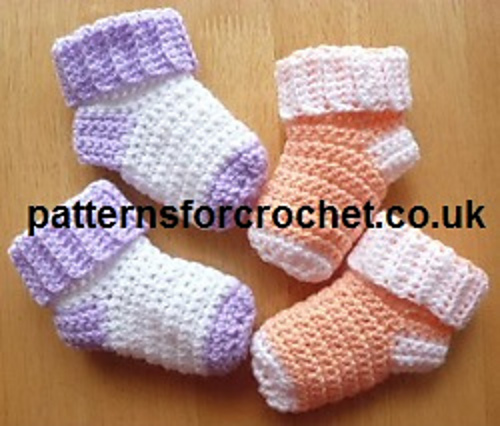 Ravelry Pfc64 Baby Socks Pattern By Patternsfor Designs