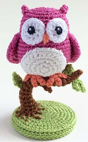 Ravelry: An Owl Is Born... pattern by Uljana Semikrasa