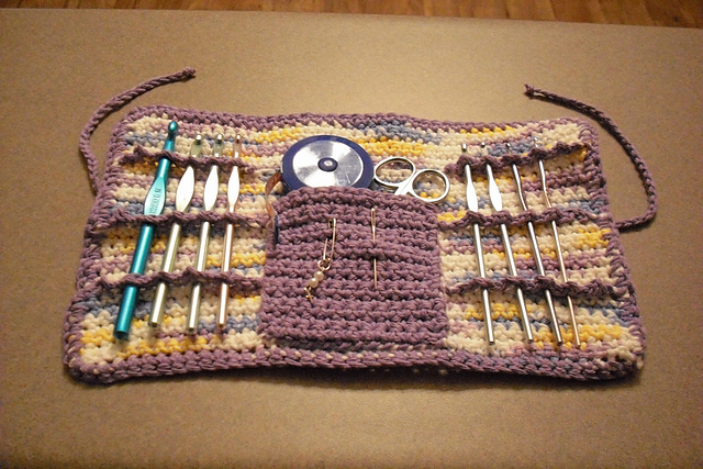 Ravelry: Easy Crochet Hook Case pattern by Tiffany Roan