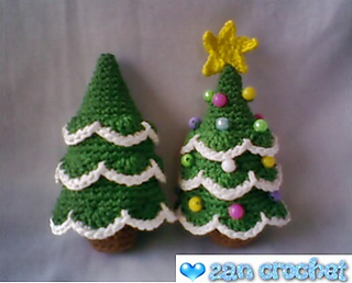 Amigurumi Christmas : Ravelry amigurumi christmas tree pattern by zan merry