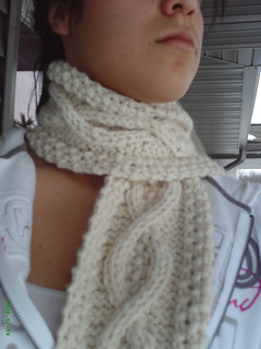 Ravelry Cable Twist Scarf Pattern By Patricia Esparza