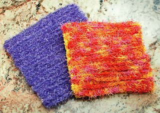 Ravelry Double Sided Scrubby Dishcloth Pattern By Kara Gunza