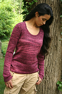 c8a55558b1f58 Ravelry   103 Basic Scoopneck Sweater pattern by Phoenix Bess