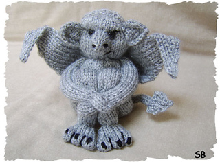 My little Gargoyle pattern by Phoeny