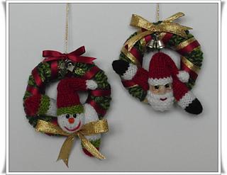 Ravelry Mini Christmas Wreaths Pattern By Phoeny