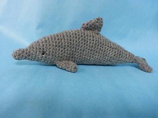 Free Amigurumi Dolphin Pattern : Ravelry bottlenose dolphin amigurumi realistic crochet pattern