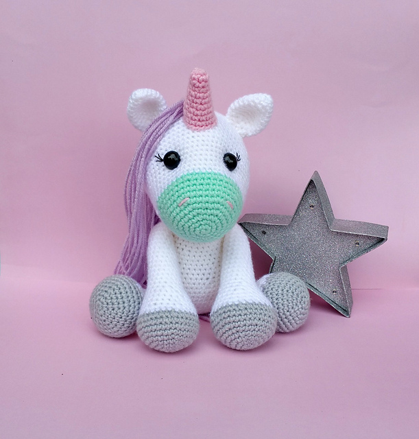 Ravelry Pistachio The Unicorn Pattern By Cece Brodie