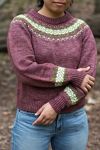 Ravelry Druid Circle Sweater Pattern By Shanel Wu