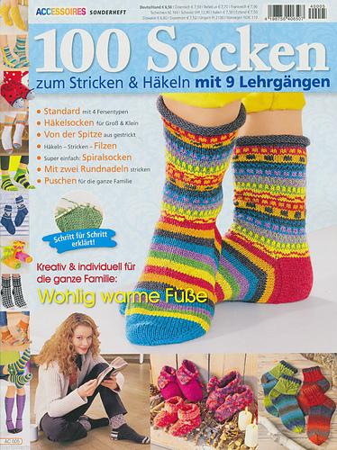 Ravelry Accessoires Sonderheft Ac 005 100 Socken Zum Stricken