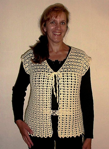 Ravelry Crochet Hippie Vest Pattern By Ludmila Kotaskova