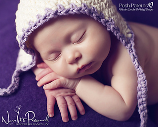 Ravelry vintage style baby pixie hat crochet pattern 266 pattern by posh patterns dt1010fo