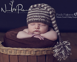 6a83ebae112 Ravelry  Baby Long Tail Elf Pixie Hat 211 pattern by Posh Patterns
