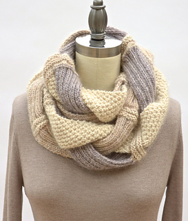 Ravelry Challah Infinity Scarf Pattern By Pam Powers