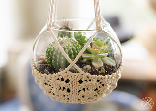 Ravelry Terrarium Hanger Pattern By Pam Powers