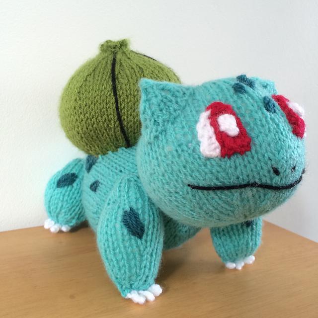 Ravelry: Bulbasaur pokemon toy amigurumi pattern by Emma Whittle