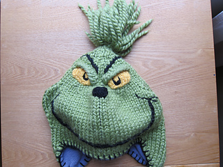 Ravelry  Grinch Hat pattern by Virginia Morley 3d443419c18