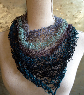 Ravelry Light Triangle Scarf Pattern By Ester Puente