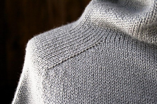 Ravelry Top Down Turtleneck Cardigan Pattern By Purl Soho
