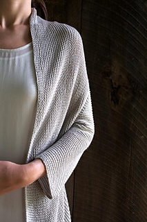Folded Squares Cardigan pattern by Purl Soho