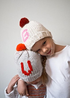 41614df794e12a Ravelry: Monogrammed Hats for Everyone pattern by Purl Soho