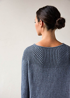 4c9abee4415ea7 Ravelry  Faceted Yoke Pullover pattern by Purl Soho
