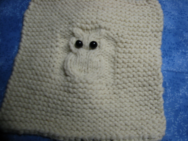 Ravelry Owl Cable Square Pattern By Diane Crowther