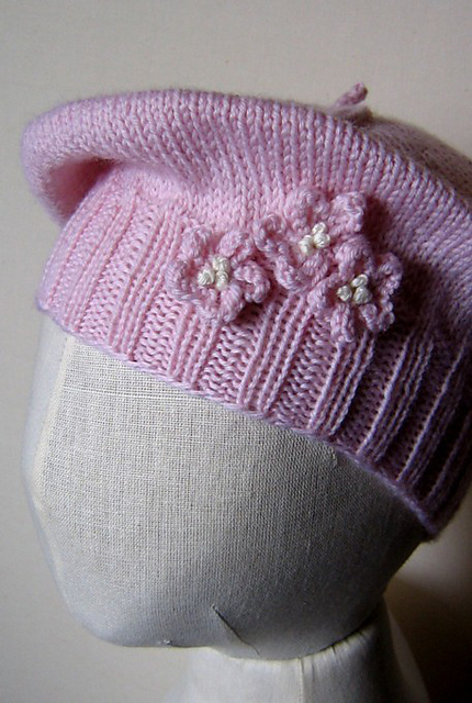 Ravelry A Beret For Baby Pattern By Pamela W Allen