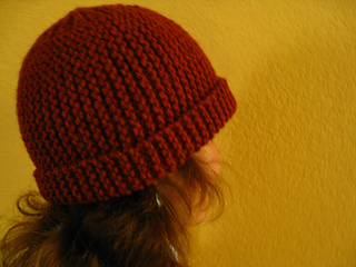 Ravelry  Easy Short Row Garter Stitch Hat pattern by Mary F. e60a4a05585