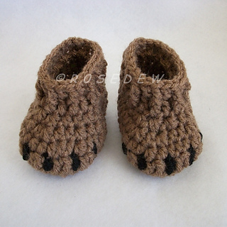 Free Bear Claw Crochet Pattern : Ravelry: Bear Claw Baby Booties pattern by Tina Rodriguez