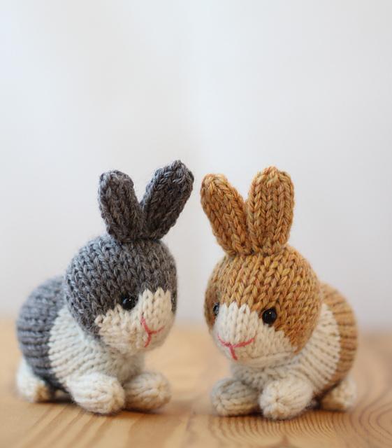 Ravelry Dutch Rabbits Pattern By Rachel Borello Carroll