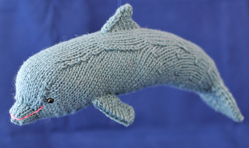 Dolphin Knitting Pattern Free : Ravelry: Dolphin pattern by Rachel Borello Carroll