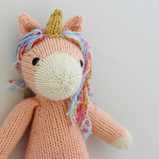 Nilla the Unicorn pattern by Rachel Borello Carroll