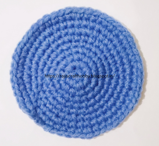 Ravelry How To Make A Flat Circle Pattern By Rajeshwari Singh