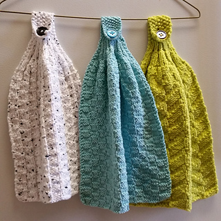 Ravelry: Hanging Kitchen Towels pattern by Reah Janise ...