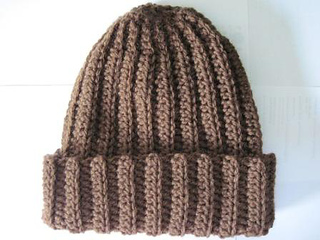 47ee4bb82d8 Ravelry  Basic Crochet Ribbed Hat pattern by Rebekah Thompson