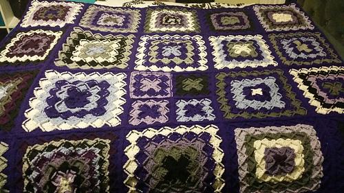 Ravelry Lush Garden Bavarian Stitch Afghan Pattern By Elizabeth Mareno