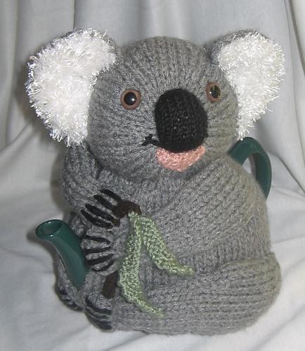 Ravelry Koala Tea Cosy Pattern By Rian Anderson