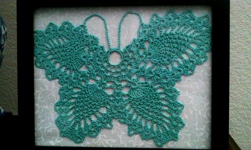 Ravelry Pineapple Butterfly Pattern By Maria Merlino