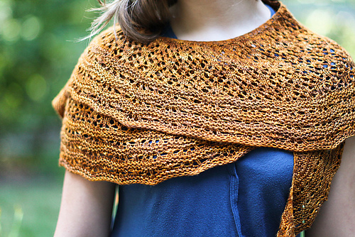 Ravelry Sunflower Shawlette Pattern By Rose Beck