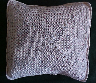 Ravelry Easy Crocheted Throw Pillow Sham Pattern By Rose Stitely